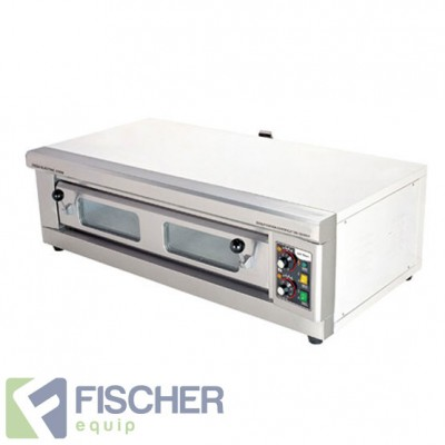 Fischer Stone Based Pizza Oven - Single Deck - SDPO-40