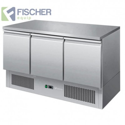 3 Door Saladette Prep Fridge - ES03-51