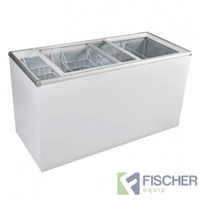 SD-410 Glass Top Chest Freezer