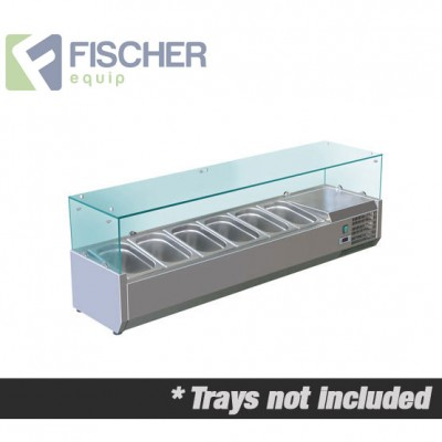 Fischer Cold Bain Marie, 6 x 1/3 GN Trays Not Included VRX-1400
