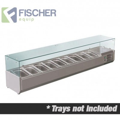 Fischer Cold Bain Marie, 9 x 1/3 GN Trays Not Included VRX-2000