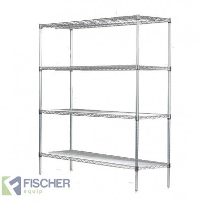Chrome Wire Shelf CS-900 x 455