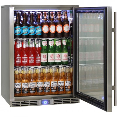 Outdoor Bar Fridge Made To Keep Beer Cold In 40°C Temperatures