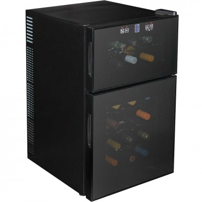 Wine Fridge Dual Zone 24 Bottle And Quiet Running