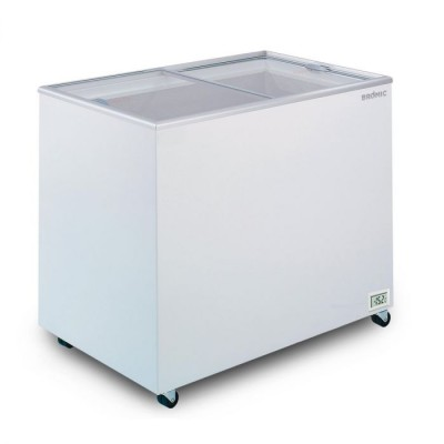 Bromic Flat Top Glass Chest Freezer - 296L - CF0300FTFG