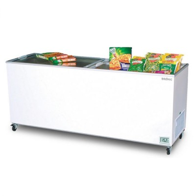 Bromic Flat Top Glass Chest Freezer - 670L - CF0700FTFG