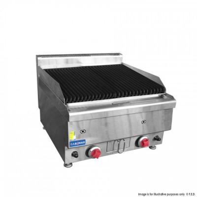 GASMAX Benchtop Lava Rock Gas Grill