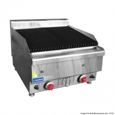 GASMAX Benchtop Two Burner Chargrill