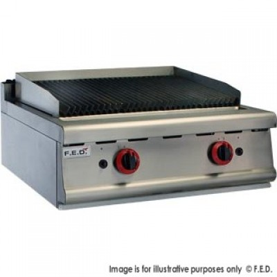 GASMAX Benchtop Twin Burner Char Grill