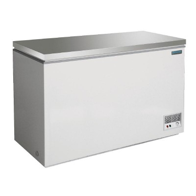 Polar Chest Freezer Stainless Steel 390L