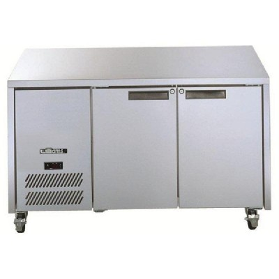 Williams Opal 2 Door Freezer Stainless Steel