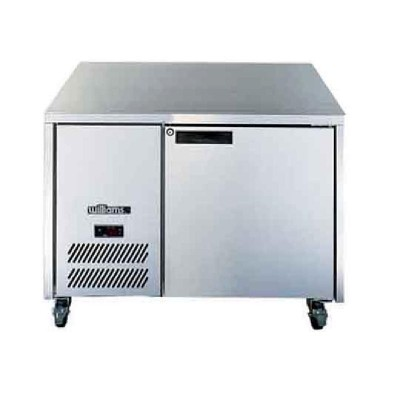 Williams Opal 1 Door Freezer Stainless Steel