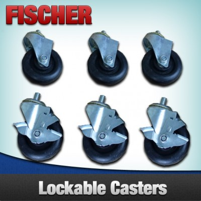 Casters x 6