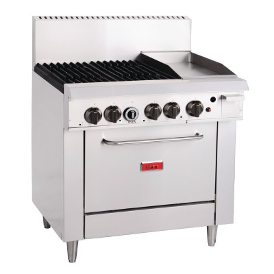 Thor 4 Burner Oven & 12 Inch Grill
