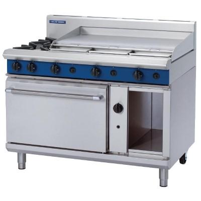 Blue Seal 2 Burner Oven With 900mm Griddle